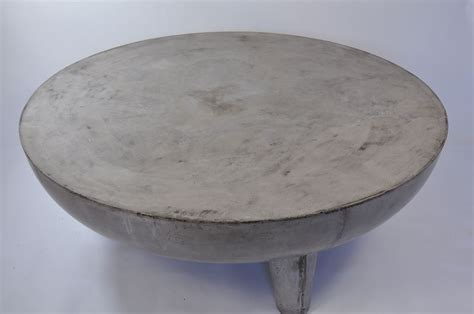 oval concrete coffee table greer light concrete coffee table mecox gardens