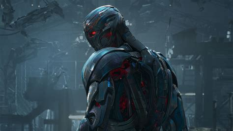 Wallpaper Ultron, Supervillain, 4k, 8k, Age Of Ultron