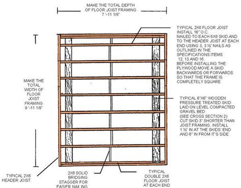 8 X 10 Slant Roof Shed Plans by How To Build A Shed With A Lean To Roof Step For Build Shed