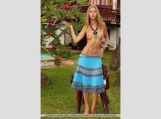 Krystal Boyd In A Summer Dress