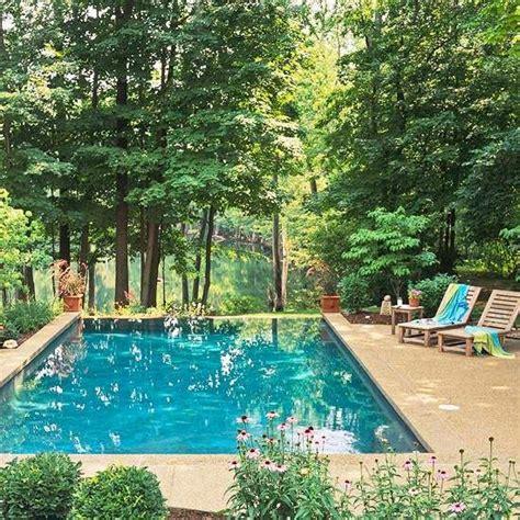 Ideen Wohnen Garten Leben by 10 Ideen Pool Im Garten Waldumgebung Leben Wohnen