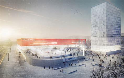 bureau culturel lausanne architectes cigm centre sportif de malley