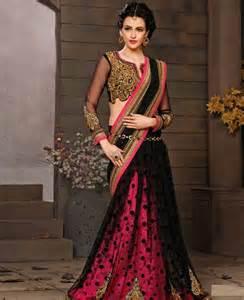 Black Party Wear Saree