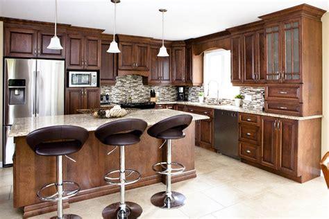 cuisine armoire brune armoires de cuisine vila chambre de commerce