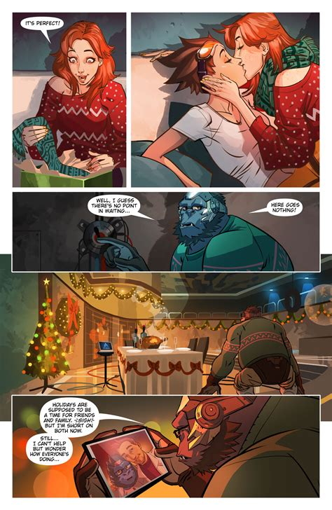 Overwatch Comic Confirms Tracer Is Gay Ewcom