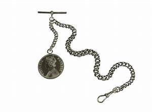 Antique Sterling Silver Pocket Watch Chain | Omero Home