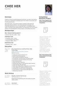 controle de qualidade exemplo cv visualcv retomar With resume for quality control in food industry