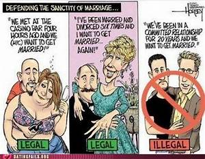 Liberals on gay marriage