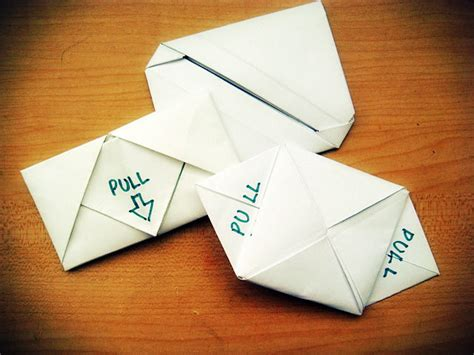 Origami Note How To Make Origami Heart Love Notes Step
