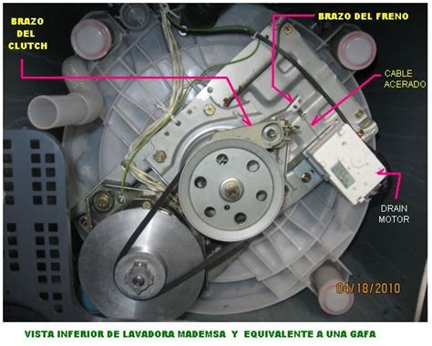 solucionado lavarropas gafa 7500 inox tira error 4 y no centrifuga yoreparo