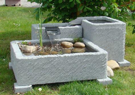 Springbrunnen Für Den Garten by Springbrunnen Brunnen Wasserspiel Granitwerkstein Stein