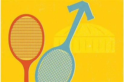 Sexes Battle Tennis