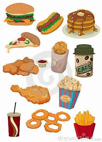 Cartoon Fast Icon Dreamstime Cartoons Comida Clip