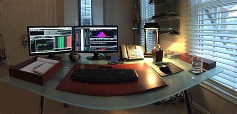 My At Home Options Trading Desk Battlestations