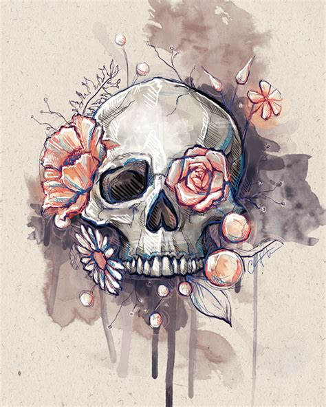 Best Cool Skull Drawings Ideas And Images On Bing Find What You