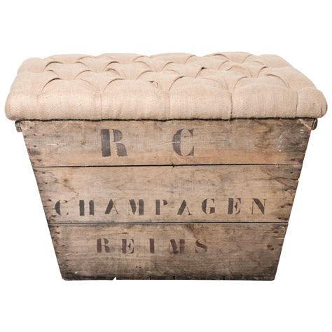 crate furniture bench chagne crate bench at 1stdibs