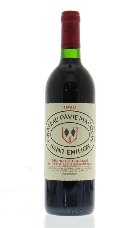 chateau pavie macquin chateau pavie macquin 1990 best of wines