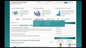 Quelques liens utiles for Company intranet template