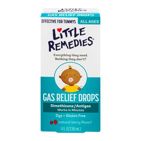 Amazoncom Little Remedies Tummy Relief Drops Natural