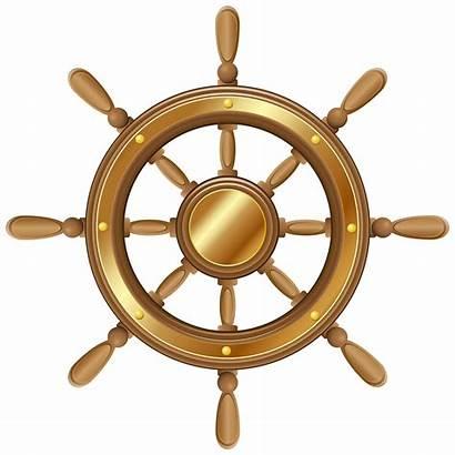 Wheel Transparent Boat Ship Clipart Clip Ships
