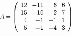 Eigenwerte Einer Matrix Berechnen : mathematik online aufgabensammlung aufgabe 52 eigenwerte ~ Themetempest.com Abrechnung