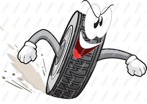 Pencil And In Color Tire Clipart