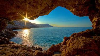 Widescreen Caves Cave Desktop Definition Sea