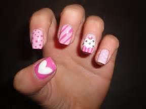 Happy birthday nail art ideas designs for girls