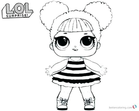printable coloring pages lol dolls