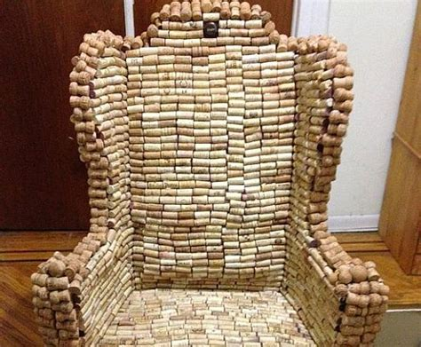 Most creative products made using recycled wine corks
