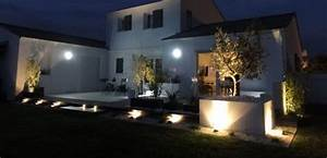 Eclairage Exterieur Jardin : eclairage deco exterieur hotelauxsacresreims ~ Melissatoandfro.com Idées de Décoration