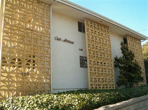 concrete patio dallas property modern mid century decorative concrete blocks the
