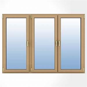 porte fenetre bois 3 vantaux acces a la terrasse au balcon With porte fenetre alu 3 vantaux