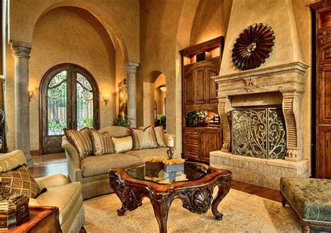 15 Stunning Tuscan Living Room Designs Wall Fixtures For Living Room Leather Chairs Cheap Sets Havertys Pictures Divider Turquoise Front 5th Wheel Sale
