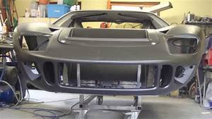 Ford GT40 build Part 8 Body ready, frame painted and electrical harness started - YouTube