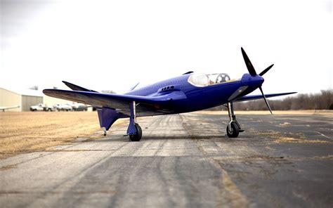 Replica Of Ettore Bugatti's 100p Airplane Ready To Take