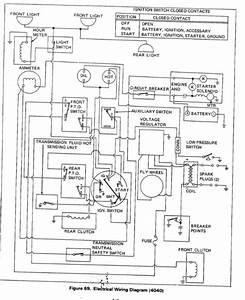 Alli Chalmer Wiring Schematic D