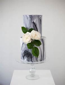 On Trend Works of Art: 11 Marble Wedding Cakes