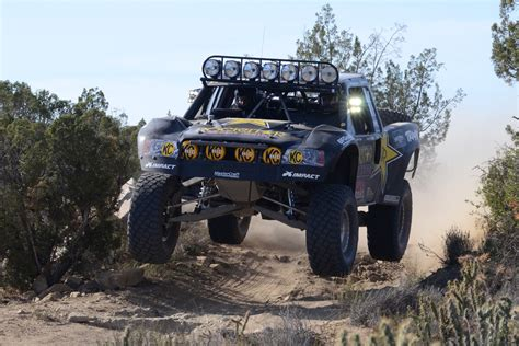 baja trophy truck rob maccachren takes trophy truck victory in the 2014 baja