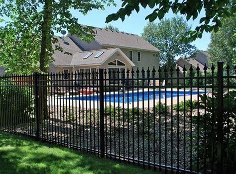 iron fence ideas wrought iron fences landscaping network