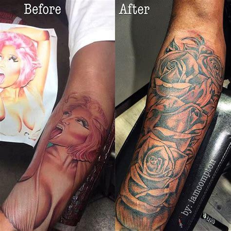 samuels finally covers  nicki minaj tribute tattoo