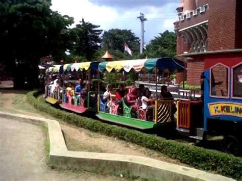 kereta wisata taman mini indonesia indah youtube