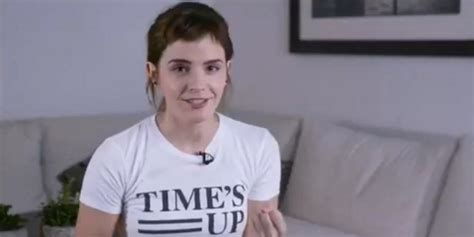 Emma Watson Wore Time Tattoo The Oscars With