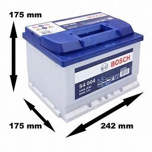 Bosch S4 12v 60ah : bosch starterbatterie s4 004 60ah 540a 12v atp autoteile ~ Jslefanu.com Haus und Dekorationen