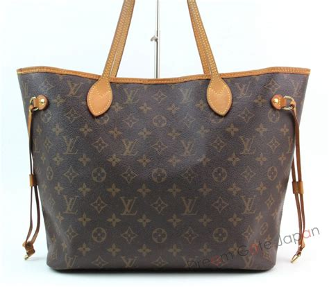 authentic louis vuitton monogram neverfull mm shoulder