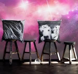 Papier Peint Espace : comment voyager dans l 39 espace sans bouger de votre appartement ~ Preciouscoupons.com Idées de Décoration