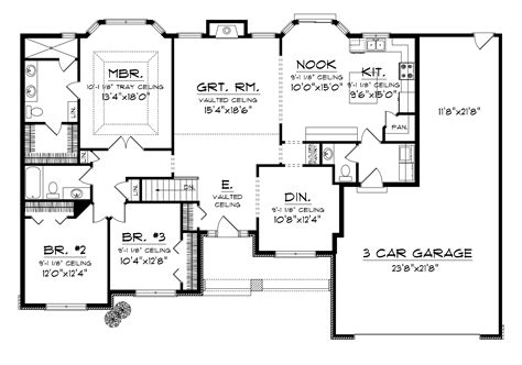 house plans amusing ranch house floor plans  nice home