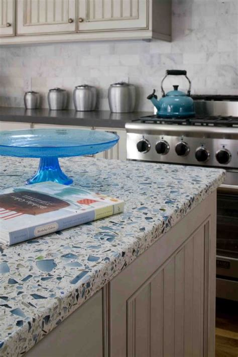Recycled Glass Countertops San Diego by Eco Friendly Interior Design Green Remodel Tracy
