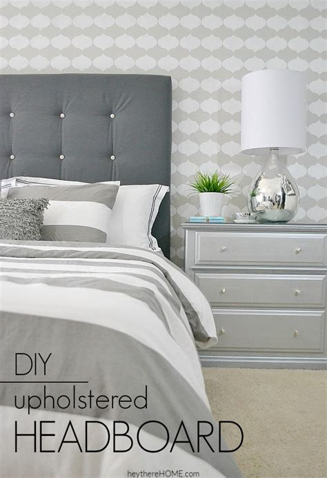 How To Make A Cloth Headboard by Diy Upholstered Headboard With Tufting