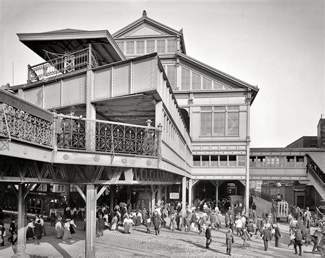 New York Circa 1906 Manhattan Entrance To Brooklyn
